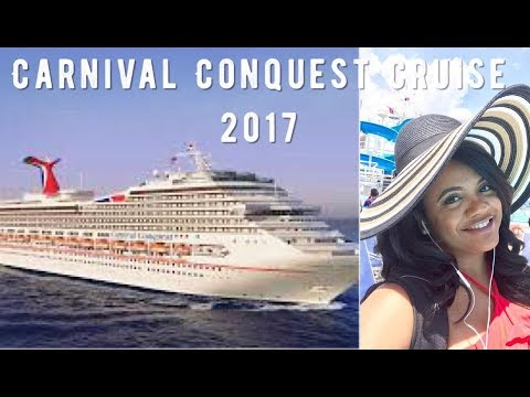 Carnival Conquest Cruise | Caribbean Voyage | Come Away With Me 2017