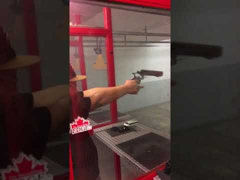 Guy Gets Huge Surprise Firing At Shooting Range