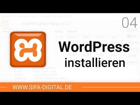XAMPP einrichten: WordPress lokal auf Testserver installieren #04 (4K) | SIFA Digital