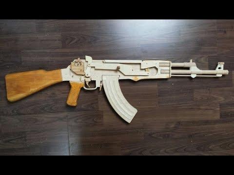 Rubber band gun AK47