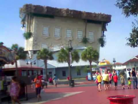 The Upside Down House In Myrtle Beach Part Ii Youtube