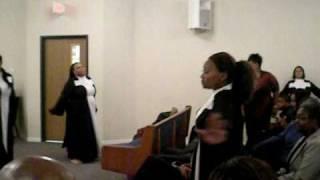 Here I am (Marvin Sapp) ALPHA 2 Praise Dancers: Greater True Light Baptist Church, Fort Worth, Tx