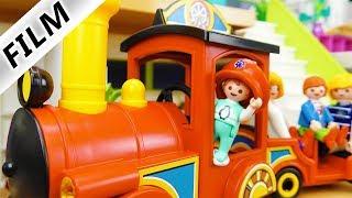 Playmobil Film deutsch | DER SCHLAFZUG - Emma der Lokomotivführer | Kinderserie Familie Vogel
