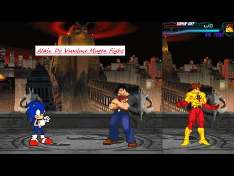 Mugen : Classic Sonic (Two Battle) (Request)