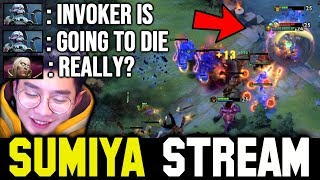 They thought SUMIYA is going to Die | Sumiya invoker Stream Moment #983