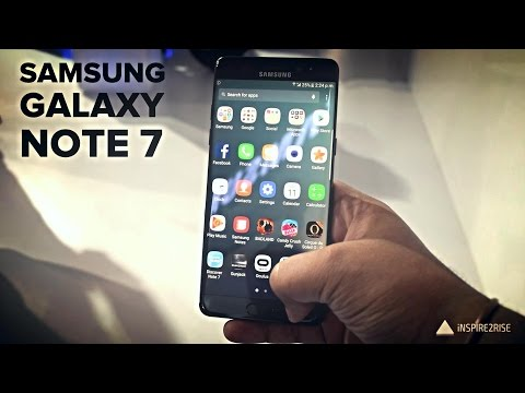 Samsung Galaxy Note 7 hands on review (CAMERA, GAMING, BENCHMARKS)