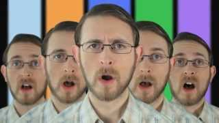 Brett Domino Blue Peter Badge Song - CBBC