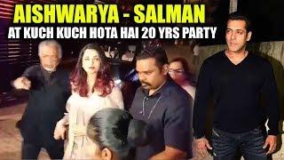Salman Khan & Aishwarya Rai Together At 20 Years Of Kuch Kuch Hota Hai Celebration