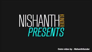 Intro and Outro - FREE After Effect Template | NishanthKunder | HD