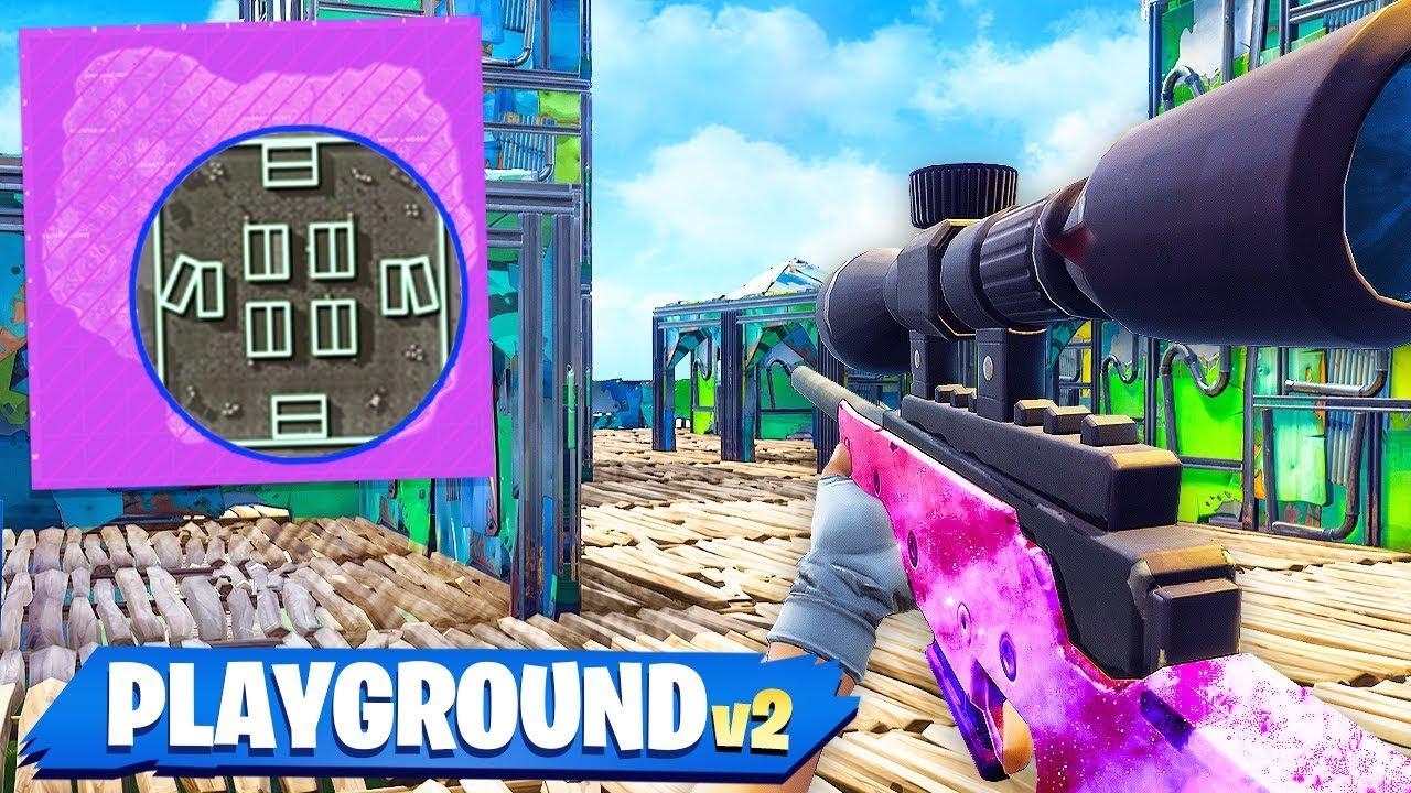 preston vs tbnrkenny 1v1 shipment sniper only custom gamemode fortnite playground mode - preston fortnite newest video