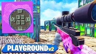 PRESTON vs TBNRKenny! 1v1 SHIPMENT Sniper ONLY Custom Gamemode! (Fortnite Playground Mode)
