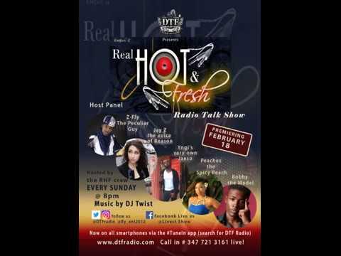 Keepin' it Real, Hot & Fresh radio talk show premiere!!