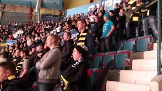 """AIK-klacken sjunger """"SHL - Hockeymördare"""""""