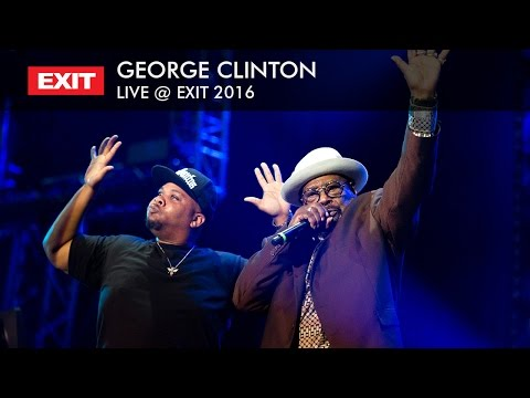 EXIT 2016 | George Clinton - Atomic Dog Live (HQ Version)