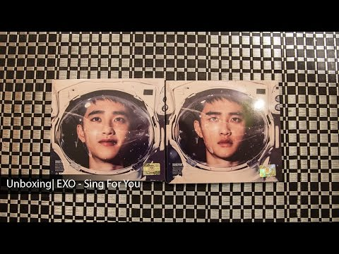 Unboxing | EXO - Sing For You (D.O. Ver.)