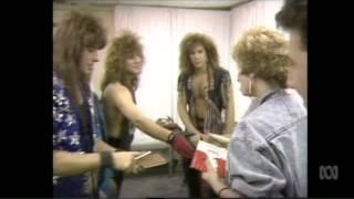 Bon Jovi - Backstage in Detroit, Countdown 1987