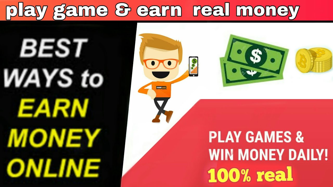 Earn Real Money Playing Games App