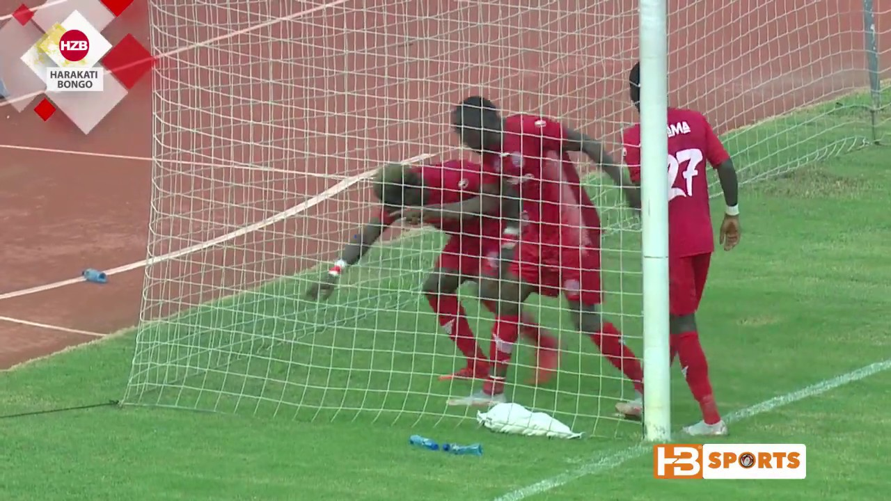Kagere apiga goli mbili peke yake Azam FC 1-3 Simba SC {TPL} 2018/19