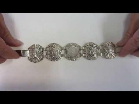 25 Silver Shekel Bracelet - Jewish Jewelry Made In Israel