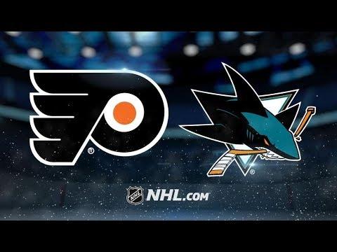 Philadelphia Flyers Vs. San Jose Sharks | NHL Game Recap | October 4, 2017 | HD