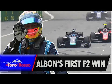 Alex Albon's First F2 Win - Azerbaijan (2018)