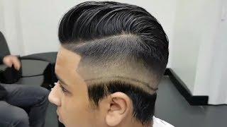 Skin Fade HairCut | Modern Pompadour