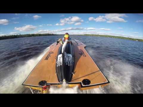 Tempo Vi Vintage Hydroplane Comes To Life At Gull Lake