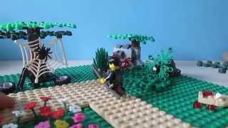 moc: lego guerre dans une foret