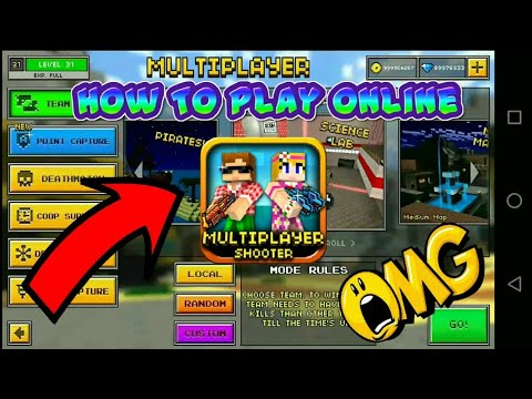 How To Play Online Version 10.0.4 Pixel Gun 3d