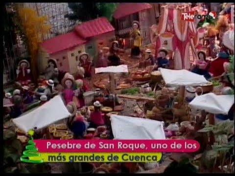 Pesebre de San Roque, uno de los más grandes de Cuenca