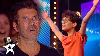 Magicians SHOCK Simon Cowell on Britain's Got Talent | Magicians Got Talent
