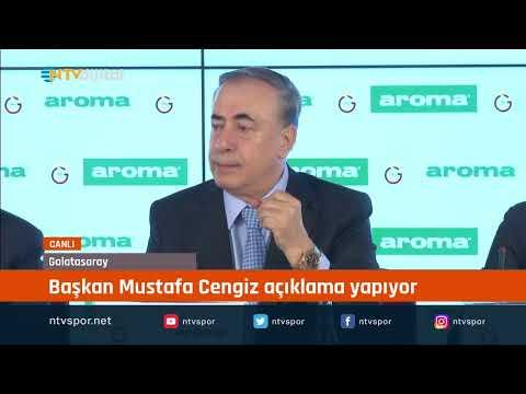 CANLI | Galatasaray Başkanı Mustafa Cengiz Açıklama Yapıyor