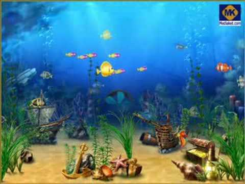 Exotic Aquarium 3D Screensaver - YouTube