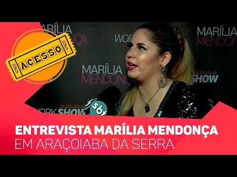 Acesso entrevista Marília Mendonça - TV SOROCABA/SBT