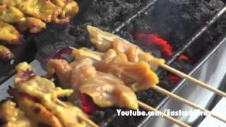 Thai Grilled Pork Satay  หมูสะเต๊ะ