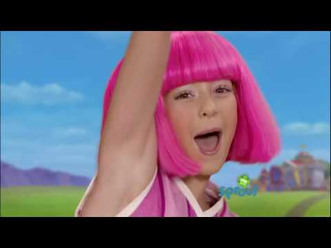 Lazy Town  Bing Bang 3 season Chloe Lang