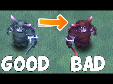 HOW SUPER IS THE PEKKA!?! | Clash Of Clans | BH8 RAIDS