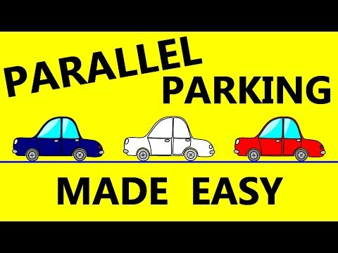 Parallel Parking Made Easy - Tips On How To Successfully Parallel Park & Pass Driving Test Easily