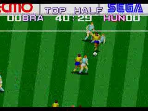 Jogando Mega Drive [05] : Tecmo World Cup '92