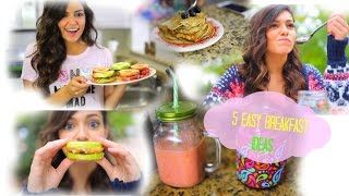 5 Easy & Fast Breakfast ideas for School! Thumbnail