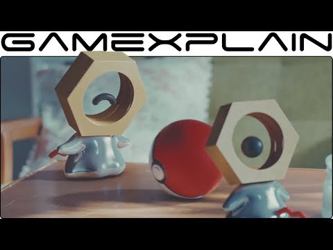 Pokémon - New Discovery: Rare Footage of Meltan in the Wild! (Live Action Trailer)