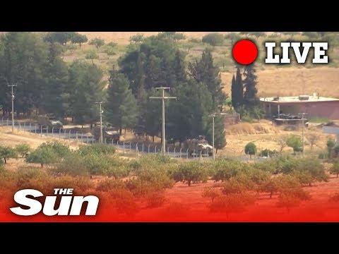 Turkish army advances into Syria | LIVE