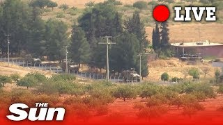 Turkish army advances into Syria | Live replay