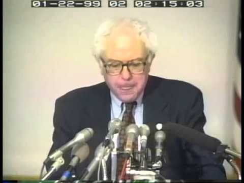 16 Years Ago, Bernie Sanders on Defense Spending Sounds the Same as Today (1999)