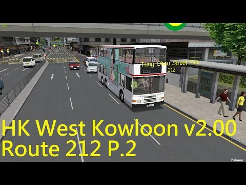 OMSI 2 HK West Kowloon v2.00 Route 212 P.2