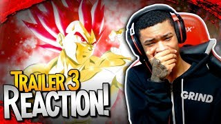 SSG VEGETA?!! | Dragon Ball Super: Broly Movie Trailer 3 [REACTION]