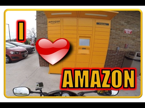 Amazon Locker is AWESOME! My first time...