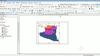 Mempercantik Peta Dengan Layouting Menggunakan ArcGIS (Membuat Peta Dengan ArcGIS)