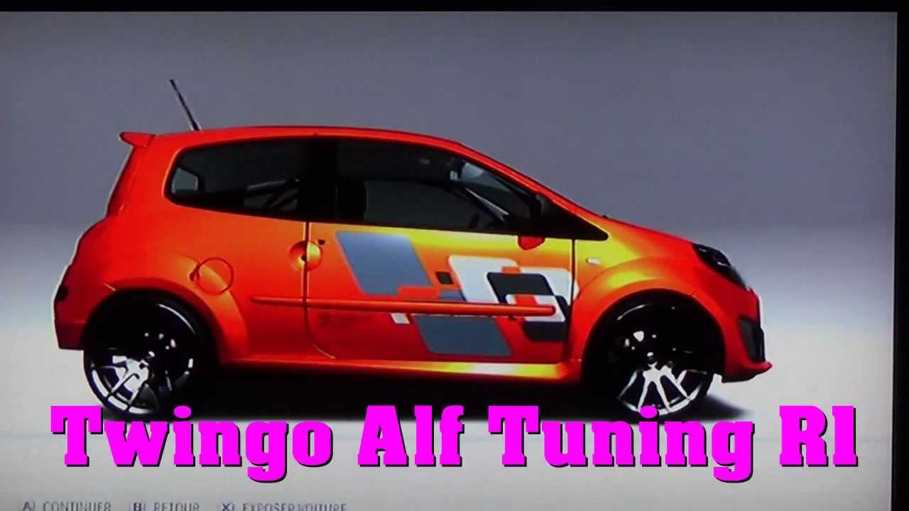 renault twingo rs r1 alf tuning youtube. Black Bedroom Furniture Sets. Home Design Ideas