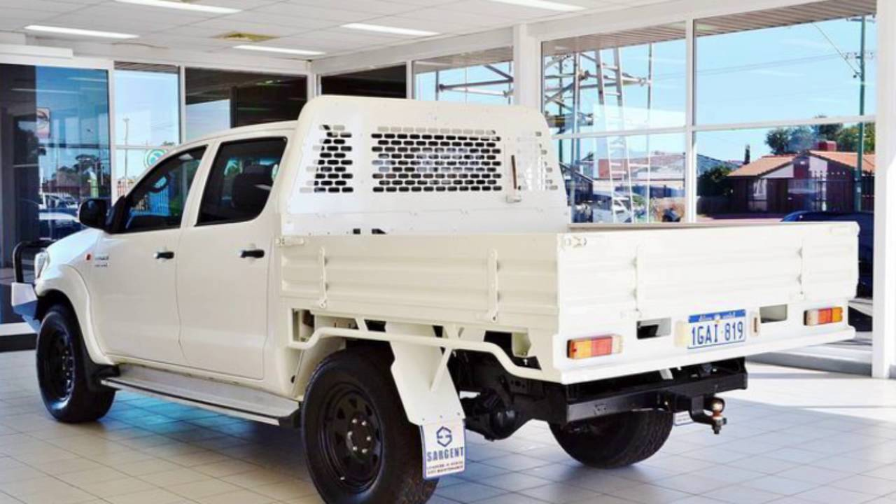 2016 toyota hilux sr 4x4 cab chassis review caradvice - 2012 Toyota Hilux Kun26r My12 Sr 4x4 White 5 Speed Manual Dual Cab Chassis